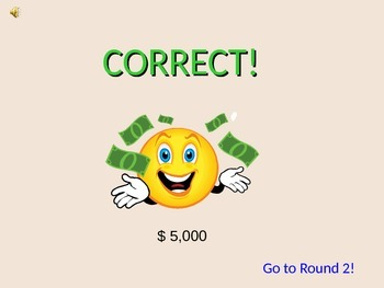 """4 Digit Subtraction: """"Who Wants to be a Millionaire"""" Smart Board Game"""