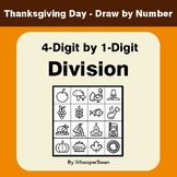 Thanksgiving Math: 4-Digit by 1-Digit Division - Math & Ar