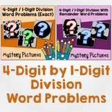 Long Division Worksheets 4 Digit By 1 Digit, Division Word Problems Grade 5