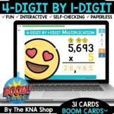 4-Digit by 1-Digit Multiplication Distance Learning End of