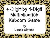 4-Digit by 1-Digit Multiplication Kaboom