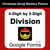 4-Digit by 2-Digit Division - Christmas EMOJI Mystery Picture - Google Forms
