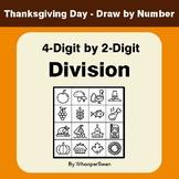Thanksgiving Math: 4-Digit by 2-Digit Division - Math & Ar