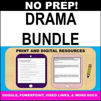 Drama Theatre Arts - 4 Unit Drama Bundle