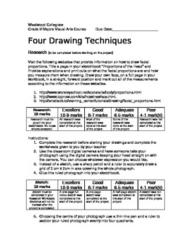 4 Drawing Techniques