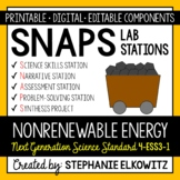 4-ESS3-1 Nonrenewable Energy Lab Stations Activity