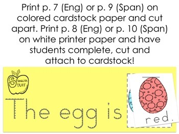 4 Easter Printables-PreK/K LA Activities!