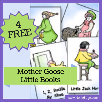 4 FREE Mother Goose Little Books