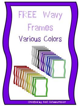 4 FREE Wavy Frames