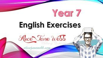English skills and worksheet teaching plans - Lessons  5-8