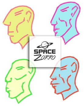 4 Faces images with transparent background