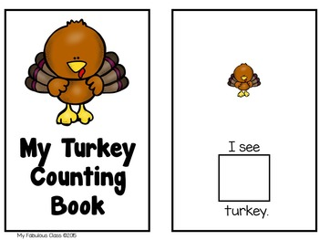 4 Fall Adapted Counting Books