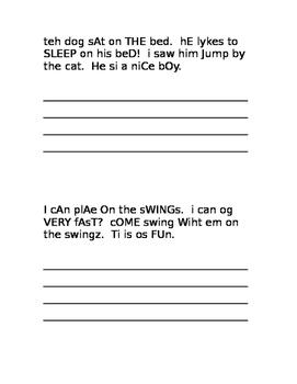 4 Fix it up writing prompts