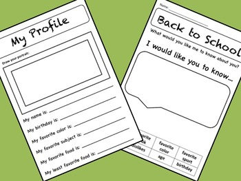 """4 Free """"Back to School"""" Activities for Grades 2-4"""