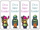 4 Free Super Reader Bookmarks