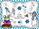 4 Free Winter Bookmarks