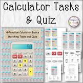 Calculator Tasks and Quiz