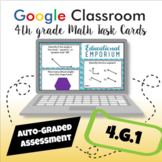 ⭐ AUTOMATICALLY GRADED ⭐ 4.G.1 Task Cards ⭐ Lines and Angles