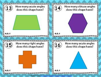 4.G.1 Task Cards: Angles & Lines Task Cards 4G1: Draw & Identify Lines & Angles
