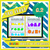 4.G.2 Interactive Notebook: Classifying 2D Shapes for Google Classroom™