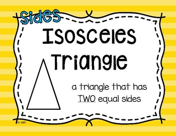 4.G.2 Poster Set: Classify Polygons {Triangles & Quadrilaterals}