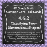 4.G.2 Task Cards: Classifying 2D Shapes Task Cards 4.G.2: Two-Dimensional Shapes