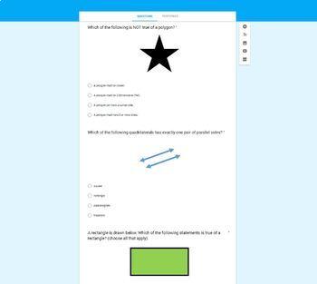 4.G Google Form Assessments