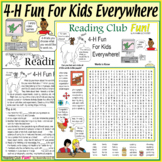 4-H Fun for Kids in Towns, Cities, Online – Puzzles to Ins