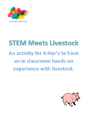 4-H Livestock STEM activity for all 4-H ages