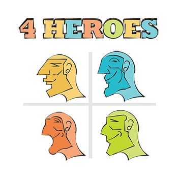 4 HEROES images