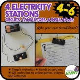 Electricity and Circuit Stations or Centers Hands on Elect