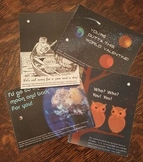 4 Hole-punch Moon Science Valentines