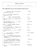 4 Human Reproduction and Development worksheets with keys