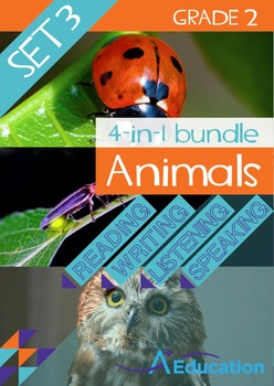 4-IN-1 BUNDLE- Animals (Set 3) – Grade 2