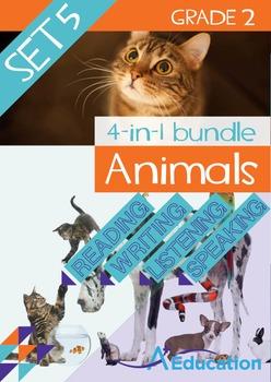 4-IN-1 BUNDLE- Animals (Set 5) – Grade 2