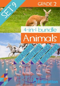 4-IN-1 BUNDLE- Animals (Set 9) – Grade 2