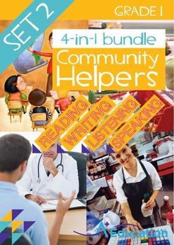 4-IN-1 BUNDLE- Community Helpers (Set 2) – Grade 1