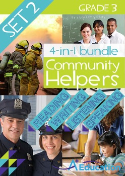 4-IN-1 BUNDLE- Community Helpers (Set 2) – Grade 3