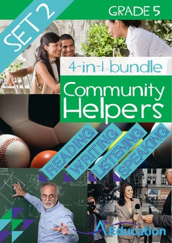 4-IN-1 BUNDLE- Community Helpers (Set 2) – Grade 5