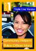 4-IN-1 BUNDLE - Community Helpers (Set 3) Grade 1 ('Triple-Track Writing Lines')