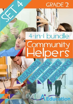 4-IN-1 BUNDLE- Community Helpers (Set 4) – Grade 2