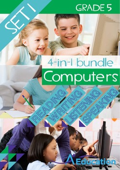 4-IN-1 BUNDLE- Computers (Set 1) - Grade 5