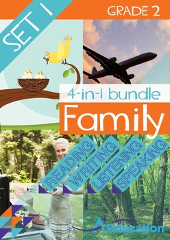 4-IN-1 BUNDLE- Family (Set 1) – Grade 2