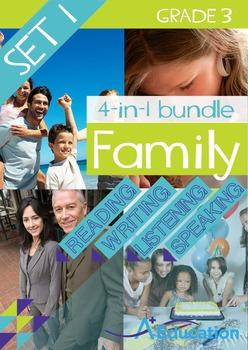 4-IN-1 BUNDLE- Family (Set 1) – Grade 3