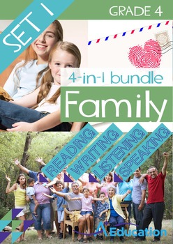4-IN-1 BUNDLE- Family (Set 1) – Grade 4