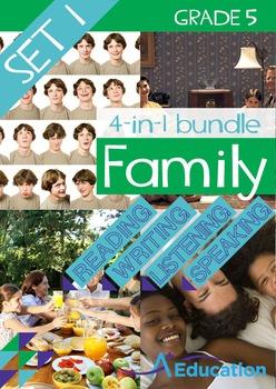 4-IN-1 BUNDLE- Family (Set 1) – Grade 5