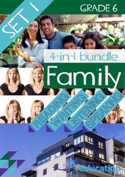 4-IN-1 BUNDLE- Family (Set 1) – Grade 6