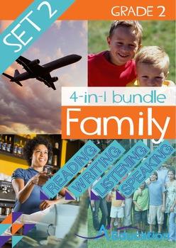 4-IN-1 BUNDLE- Family (Set 2) – Grade 2