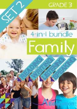 4-IN-1 BUNDLE- Family (Set 2) – Grade 3