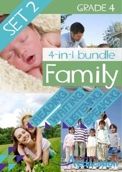 4-IN-1 BUNDLE- Family (Set 2) – Grade 4